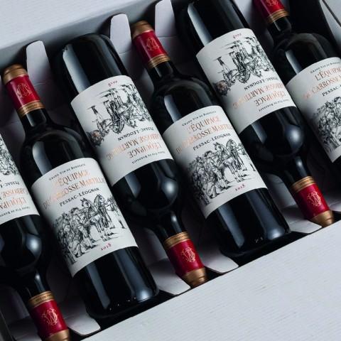 Vin rouge L'Equipage du Carrosse Martillac